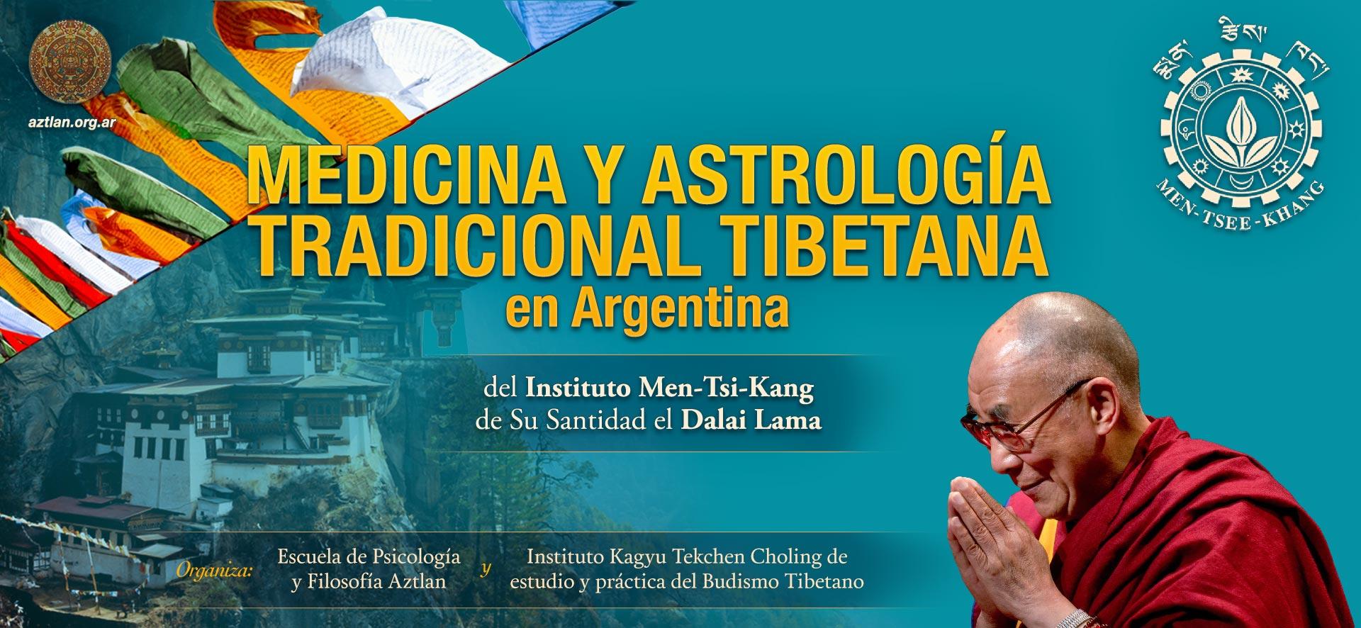 Medicina y Astrología tradicional tibetana en Argentina del Instituto Men-Tsi-Kang de Su Santidad el DalaiLama.
